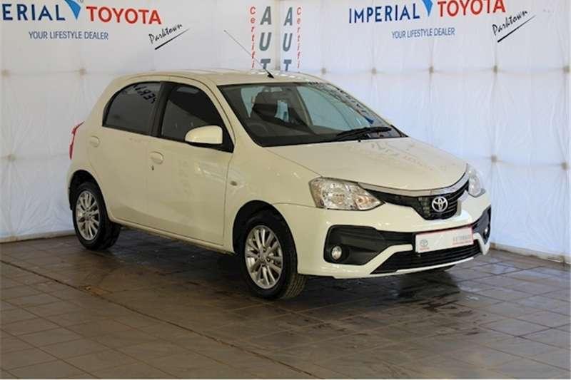 Toyota Etios hatch 1.5 Xs 2018