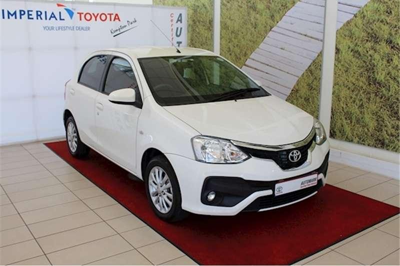 Toyota Etios hatch 1.5 Xs 2019