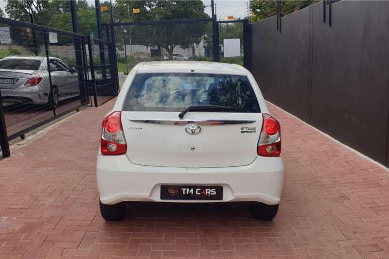 Used 2019 Toyota Etios hatch 1.5 Xs