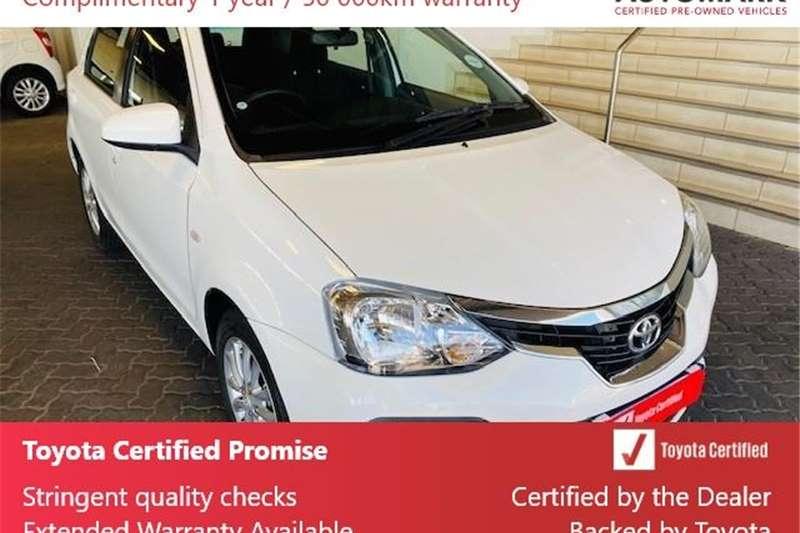 Toyota Etios hatch 1.5 Xs 2020