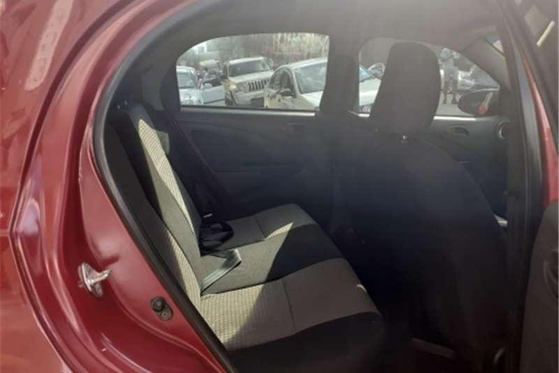 Used 2015 Toyota Etios hatch 1.5 Xs Sport