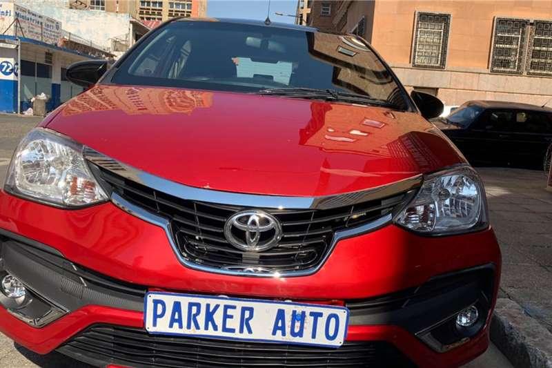 Toyota Etios hatch 1.5 Xs Sport 2018