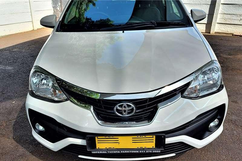 Used 2017 Toyota Etios