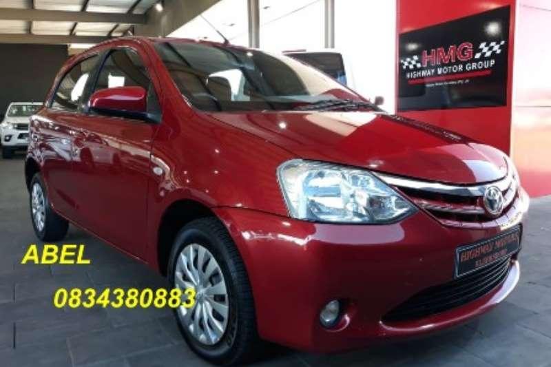 Toyota Etios hatch 1.5 Xs/SPRINT 5DR 2013