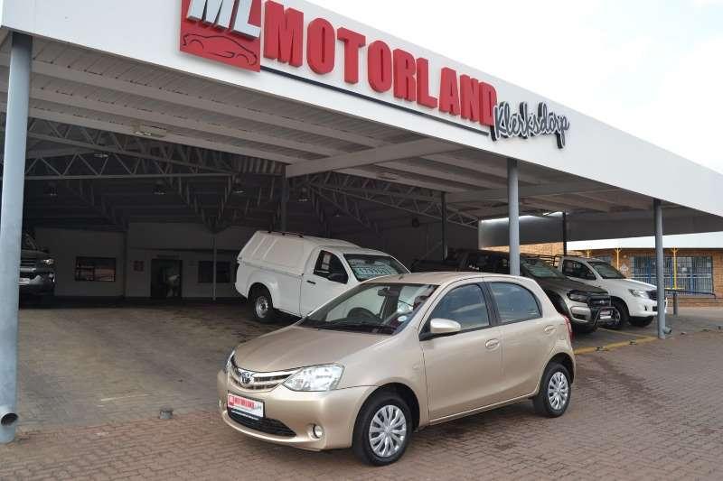 2016 Toyota Etios hatch