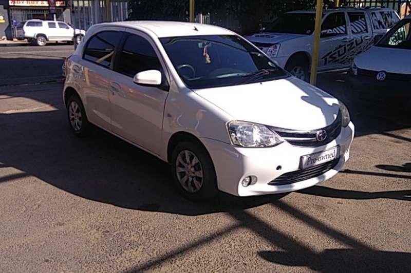 Used 2015 Toyota Etios Hatch