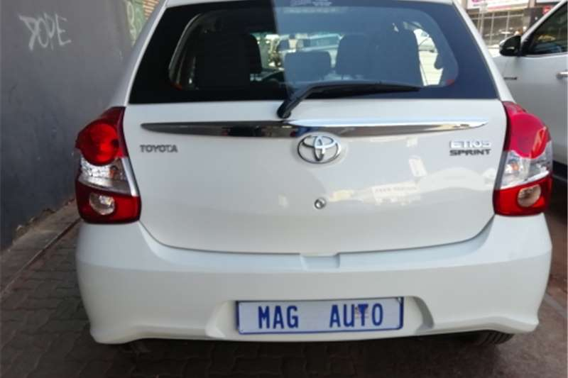 Used 2019 Toyota Etios Hatch