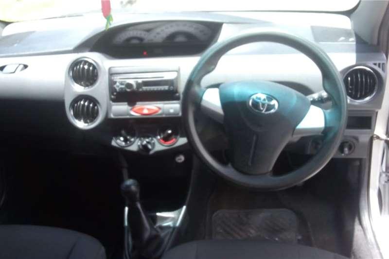 Used 2013 Toyota Etios Hatch ETIOS 1.5 SPORT 5Dr