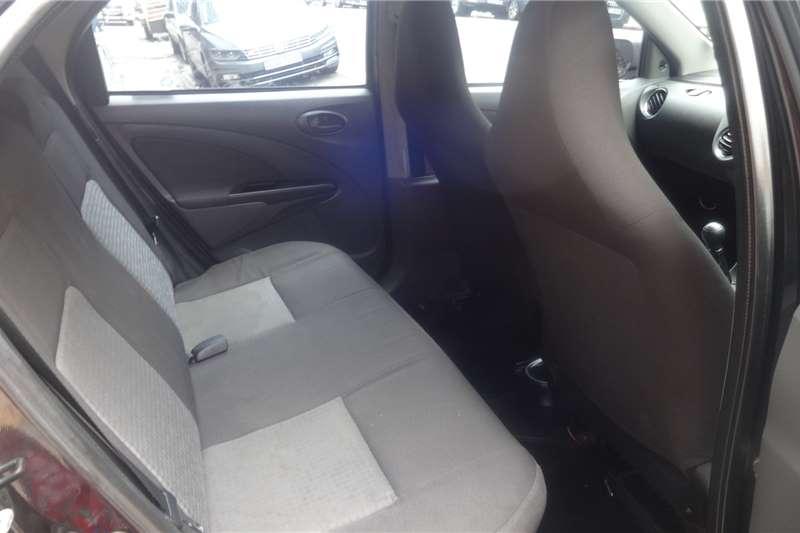 Toyota Etios Hatch ETIOS 1.5 SPORT 5Dr 2013