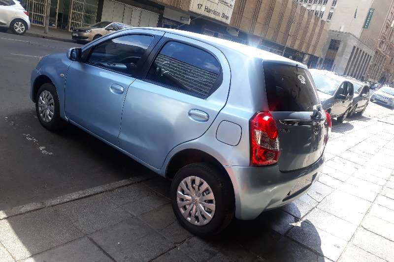 Toyota Etios Hatch ETIOS 1.5 SPORT LTD EDITION 5DR 2012
