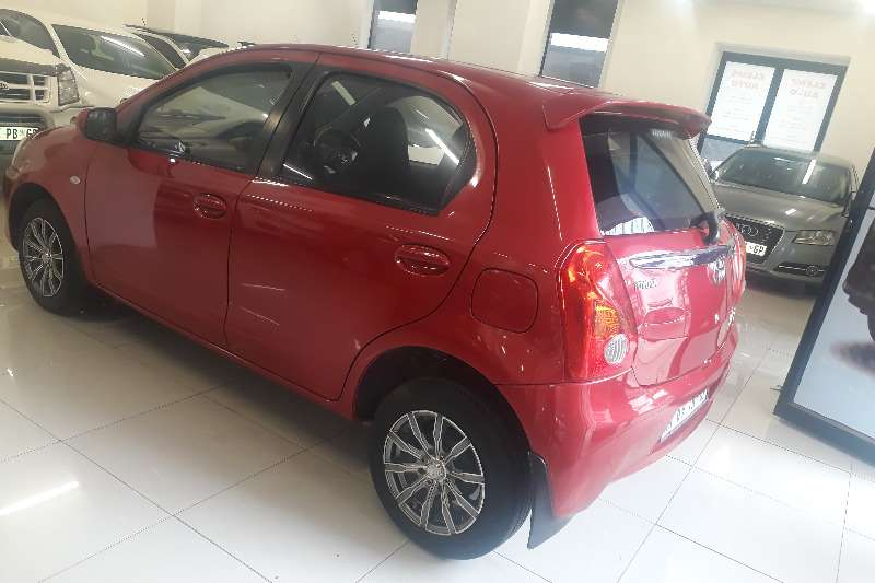 Toyota Etios Hatch ETIOS 1.5 SPORT LTD EDITION 5DR 2014