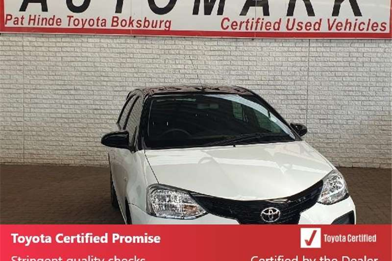 Toyota Etios Hatch ETIOS 1.5 SPORT LTD EDITION 5DR 2019