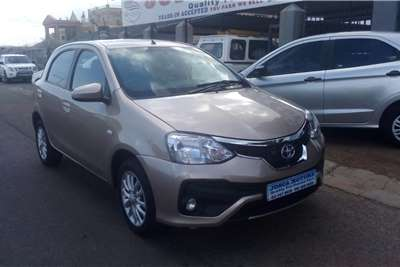 Toyota Etios hatch ETIOS 1.5 SPORT LTD EDITION 5DR 2019