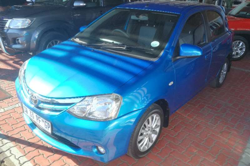 Toyota Etios Hatch ETIOS 1.5 SPORT LTD EDITION 5DR Low km!! 2014