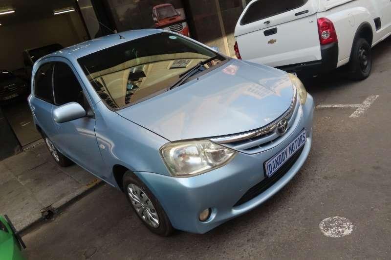 Toyota Etios Hatch ETIOS 1.5 Xi 5Dr 2013