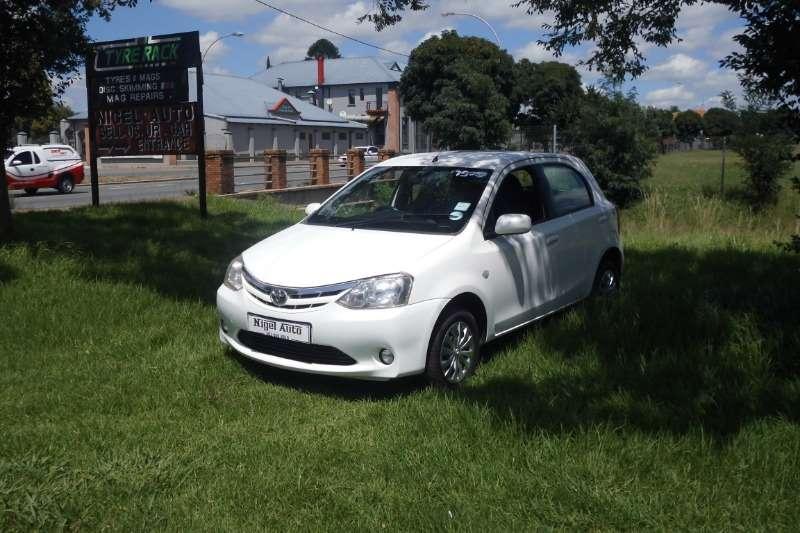 Toyota Etios Hatch ETIOS 1.5 Xs/SPRINT 5Dr 2012