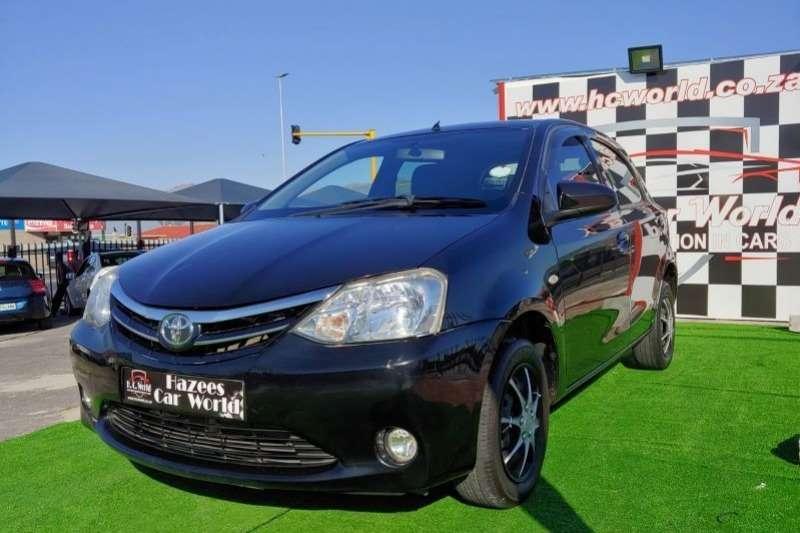 Toyota Etios Hatch ETIOS 1.5 Xs/SPRINT 5Dr 2013