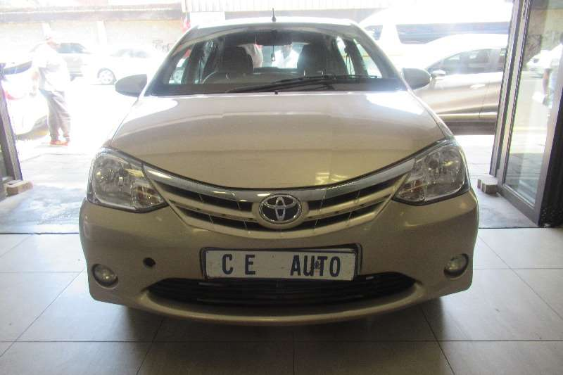 Toyota Etios Hatch ETIOS 1.5 Xs/SPRINT 5Dr 2014