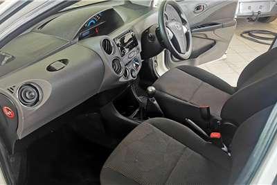 Used 2017 Toyota Etios Hatch ETIOS 1.5 Xs/SPRINT 5Dr