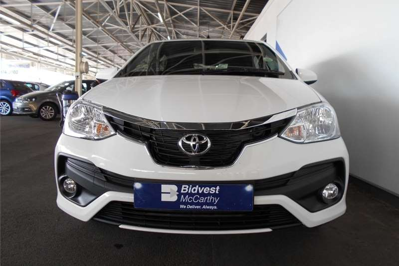 Toyota Etios Hatch ETIOS 1.5 Xs/SPRINT 5Dr 2020