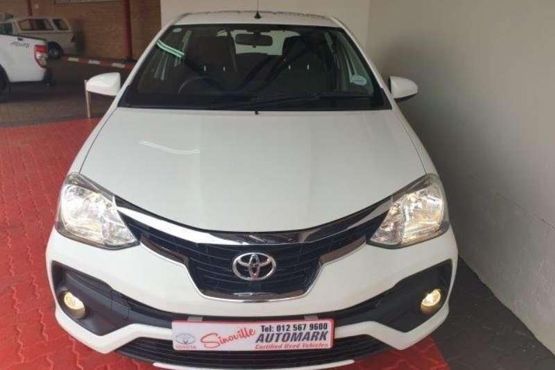 2018 Toyota Etios hatch ETIOS 1.5 Xs/SPRINT 5Dr