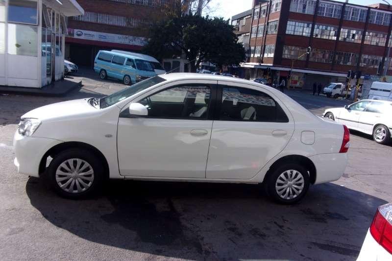 2016 Toyota Etios sedan 1.5 Xi