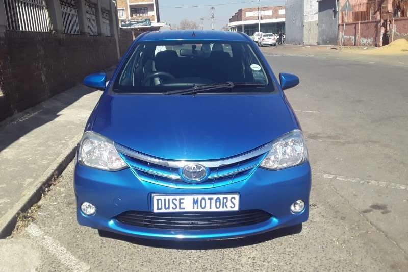 2015 Toyota Etios sedan 1.5 Sprint