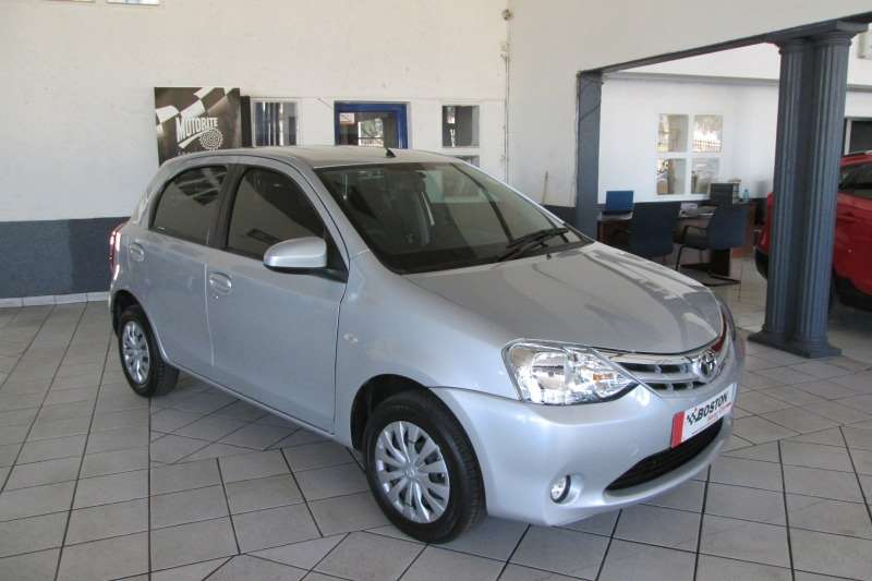 2015 Toyota Etios hatch 1.5 Sprint