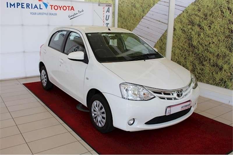 2016 Toyota Etios hatch 1.5 Xs