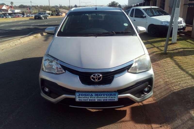 2017 Toyota Etios hatch 1.5 Xi
