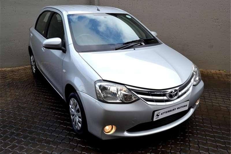2014 Toyota Etios hatch 1.5 Xs