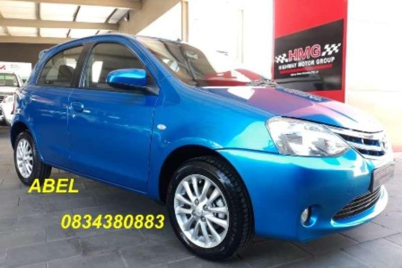 2013 Toyota Etios hatch 1.5 Xs Sport