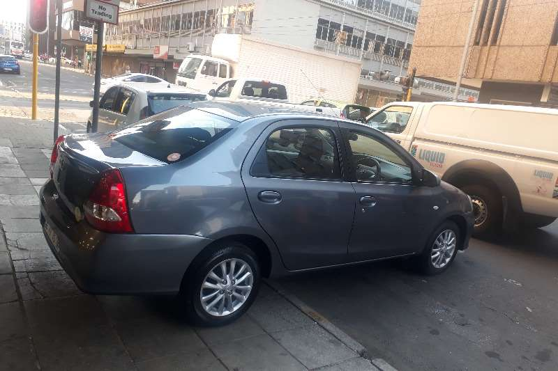 2018 Toyota Etios sedan 1.5 Sprint