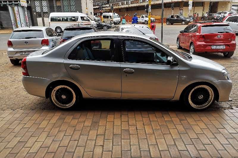 2014 Toyota Etios sedan 1.5 Sprint