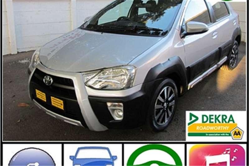 2017 Toyota Etios Cross 1.5 Xs