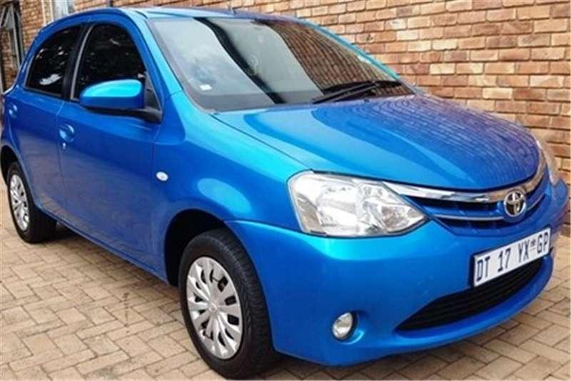 2013 Toyota Etios hatch 1.5 Xs