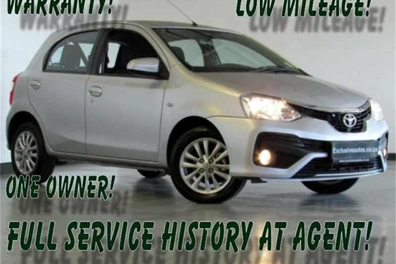 2019 Toyota Etios hatch 1.5 Xs