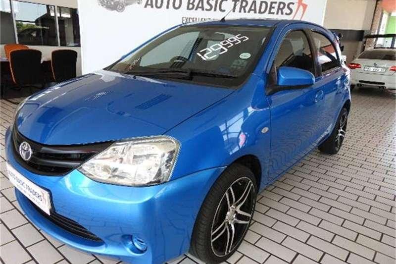2014 Toyota Etios hatch 1.5 Xi