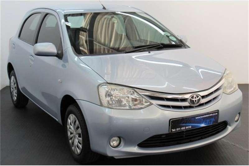 2012 Toyota Etios hatch 1.5 Xs