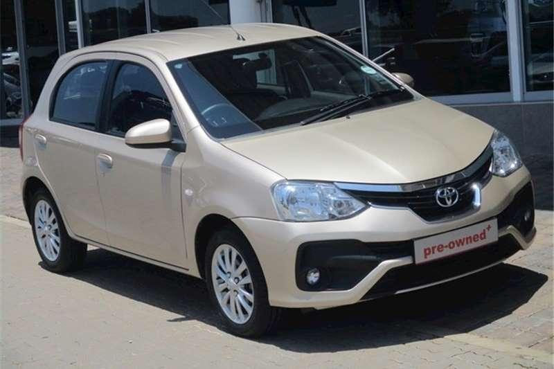 2018 Toyota Etios hatch 1.5 Xs
