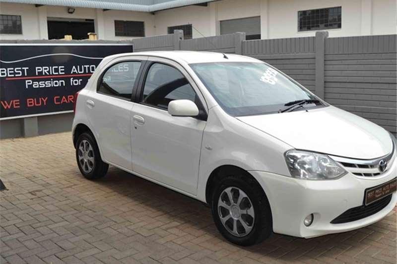 2012 Toyota Etios hatch 1.5 Xi