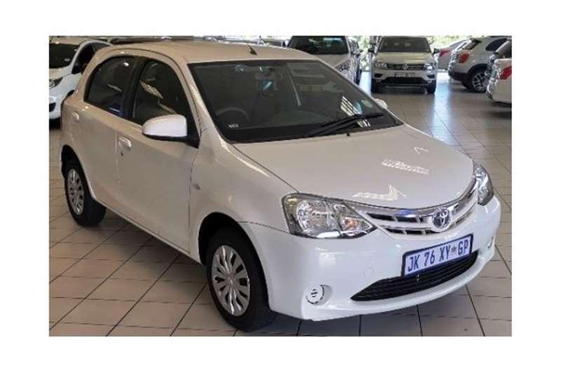 2020 Toyota Etios hatch 1.5 Xi