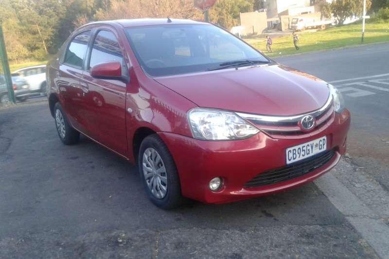 Toyota Etios sedan 1.4 Xi 2012