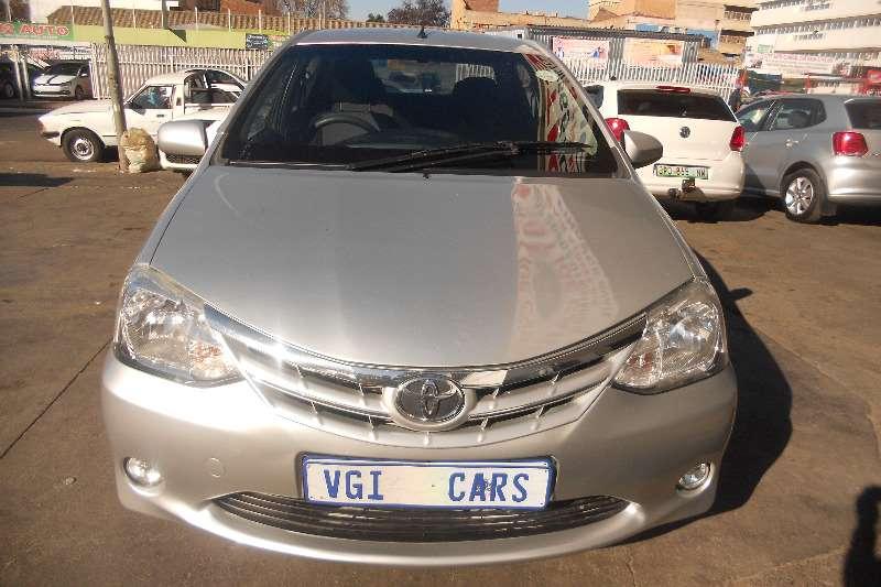Toyota Etios sedan 1.5 2014
