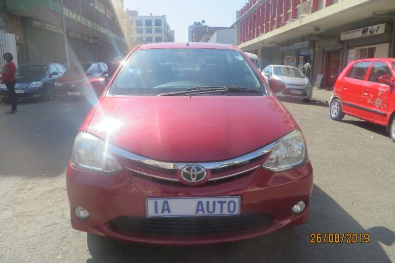 Toyota Etios sedan 1.5 Sprint 2012