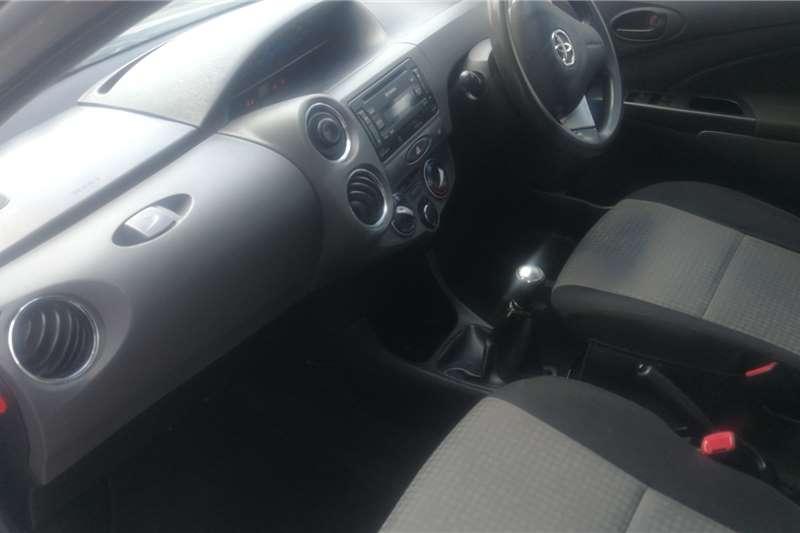 Used 2013 Toyota Etios sedan 1.5 Sprint