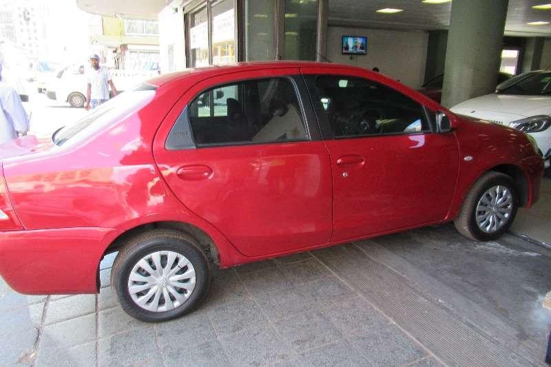 Toyota Etios sedan 1.5 Sprint 2015