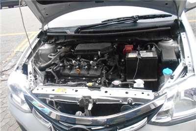 2017 Toyota Etios Etios sedan 1.5 Sprint