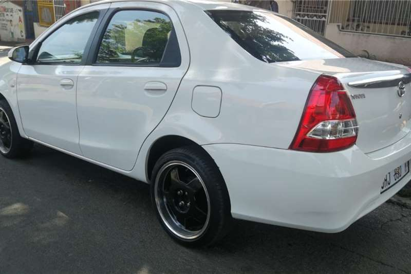 Toyota Etios sedan 1.5 Sprint 2017