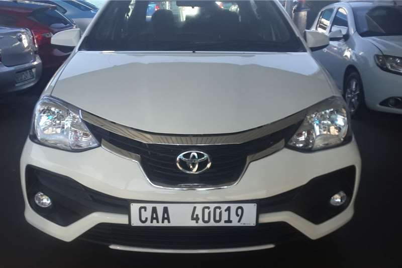 Toyota Etios sedan 1.5 Sprint 2019